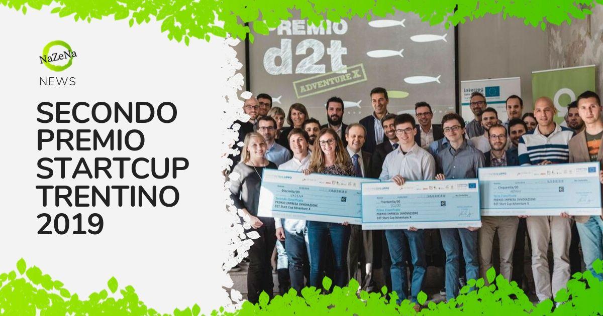 Nazena vince il secondo premio di Startcup Trentino 2019!