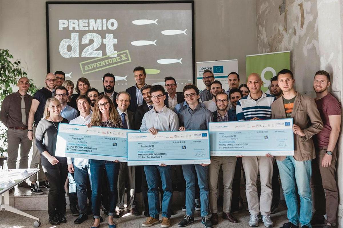 nazena secondo premio startup trentino 2019