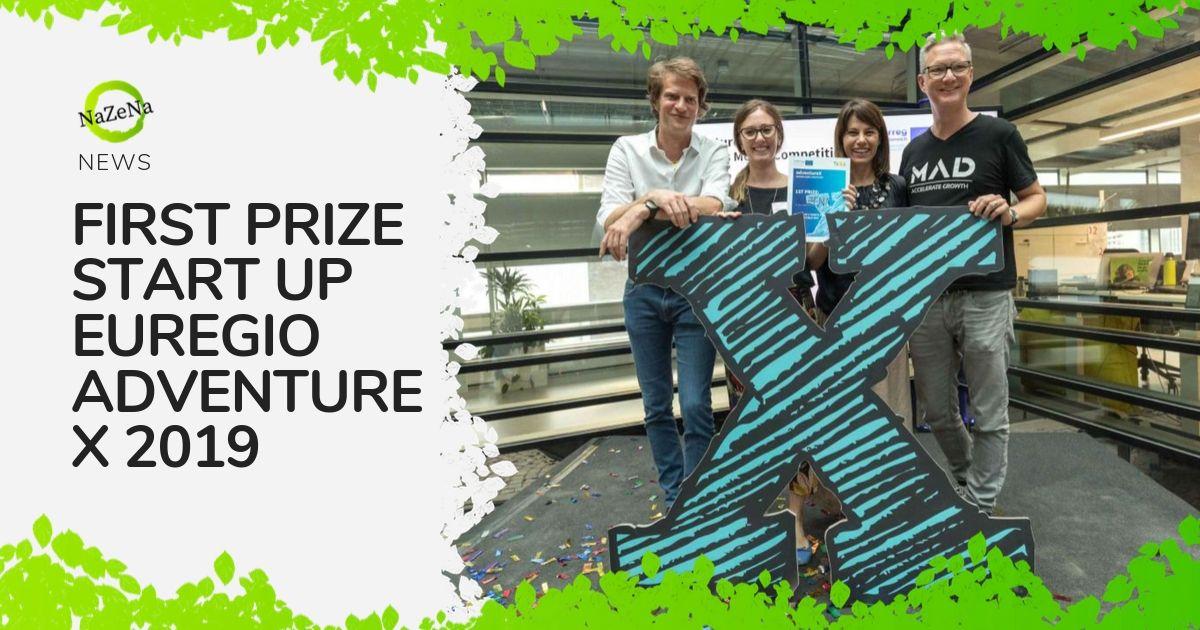 Nazena wins Start up Euregio Adventure X 2019!