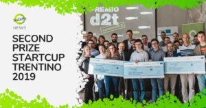 nazena second prize startcup trentino 2019
