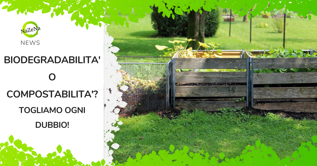 La certificazione di biodegradabilità e compostabilità