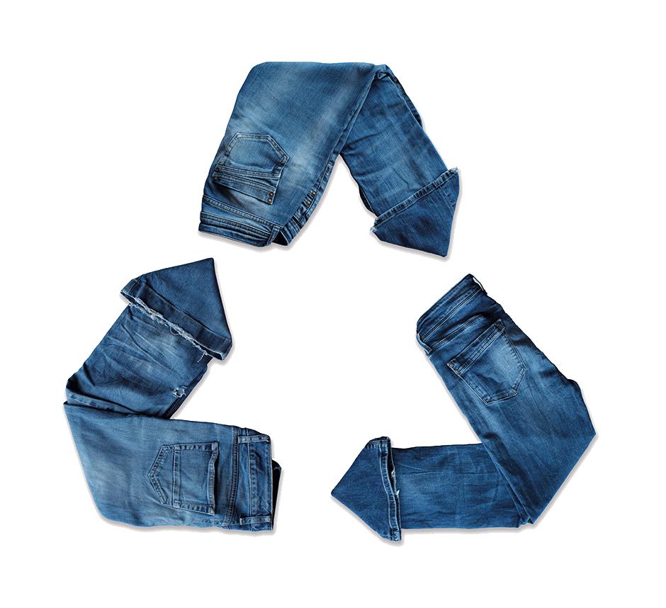 1 kg di vestiti recuperati = 3,76 kg in meno di CO2
